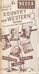 Decca Records - Country and Western