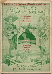 Repertorio Musical Mexicano Pamphlet-2-front