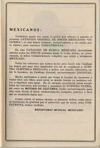 Repertorio Musical Mexicano Pamphlet-3-4