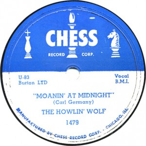 Moanin' at Midnight - Howlin' Wolf - May 1951