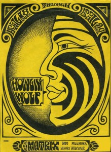 Matrix Club Howling Wolf Poster