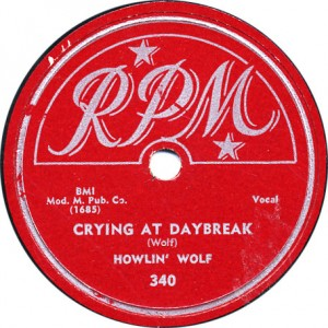 Crying at Daybreak - Howlin' Wolf - 1951