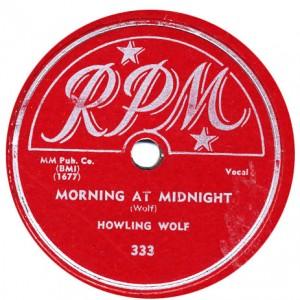 Morning- At Midnight-Howlin Wolf - Sept. 1951