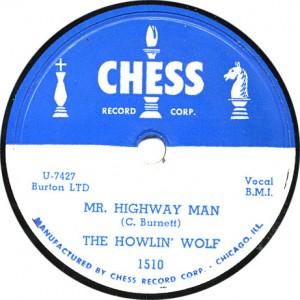 Mr. Highway Man - Howlin' Wolf