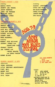 Ann Arbor Blues Festival 1970