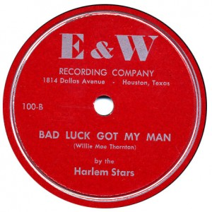 Bad Luck E and W Harlem Stars