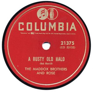 Rusty Old Halo - Maddox