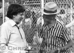 Paul Oliver & Mance Lipscomb at the 1970 Ann Arbor Blues Festival