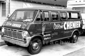 Clifton's Van photo © Chris Strachwitz, all rights reserved.
