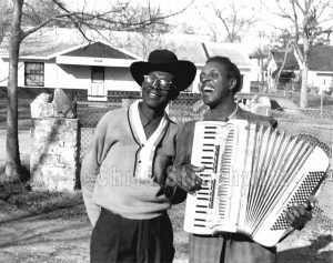 Lightning Hopkins and Clifton Chenier