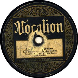 La Valse A Moreau by Leo Soileau and Moise Robin recorded 10/2/1929 in New Orleans, LA