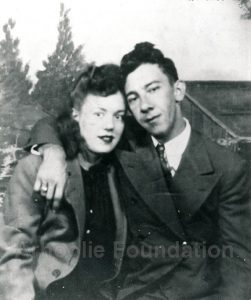 Harry Choates with his wife Helen