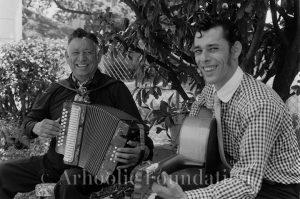 Santiago Jiménez, Sr. & Santiago Jiménez, Jr. May 1975