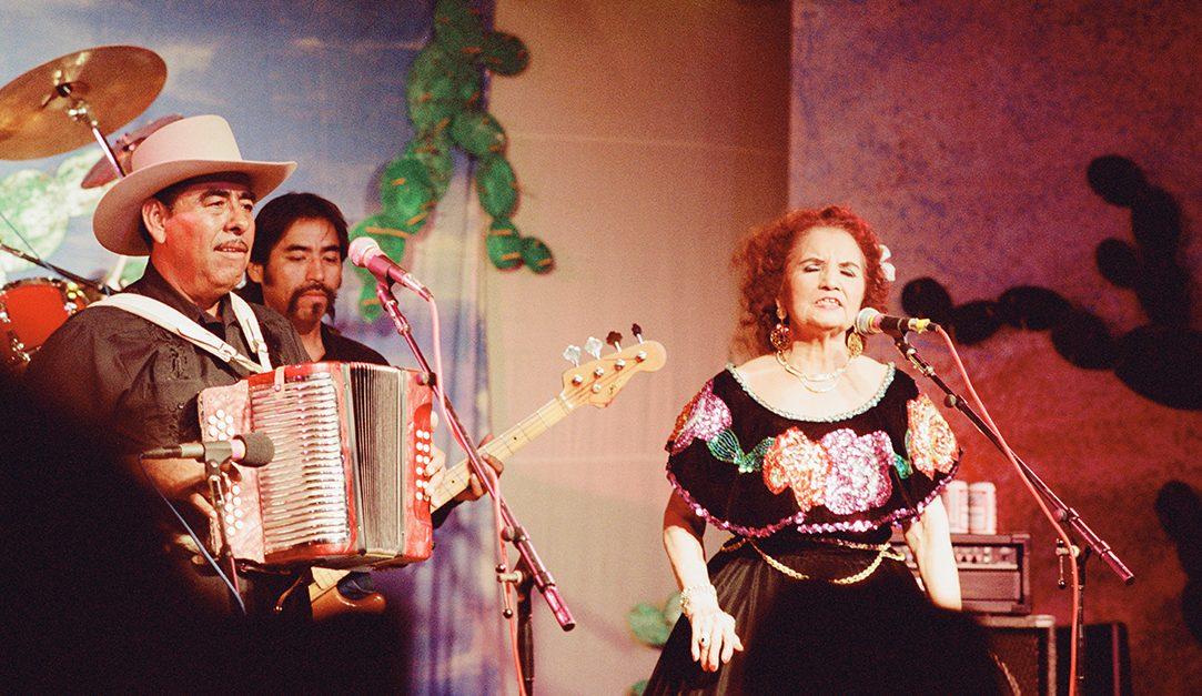 Valerio Longoria and Lydia Mendoza