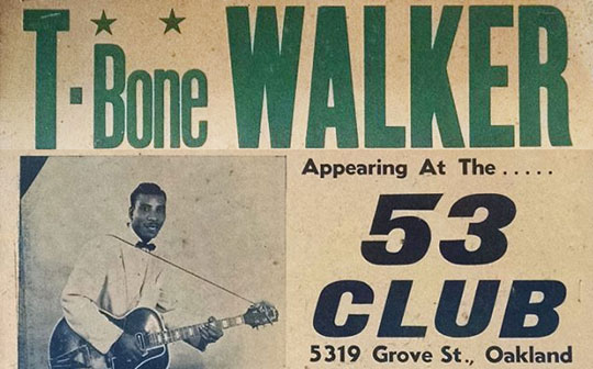 T-Bone Walker Interview