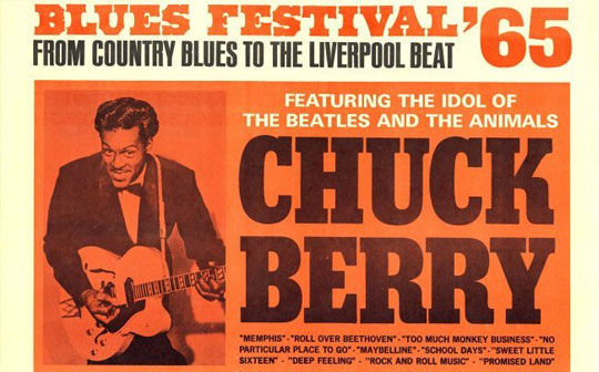 Chuck Berry and the 1965 Blues Festival