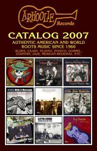 2007 Arhoolie Catalog