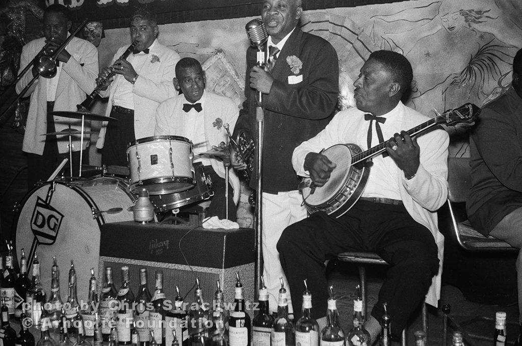 Jim Robinson – trb; Willie Humphry – clarinet; Cie Frazier – drums; Kid Howard – vocal & trumpet; possibly (Lars) Harrison Verret – banjo