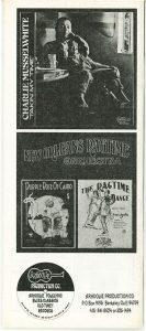 Arhoolie Catalog 1974 back