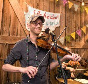 2020 Arhoolie Award recipient, cajun music fiddler Courtney Granger