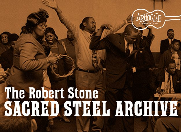 Sacred Steel Archive: Robert Stone Biography