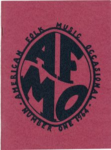 American Folk Music Occasional No. 1, 1964
