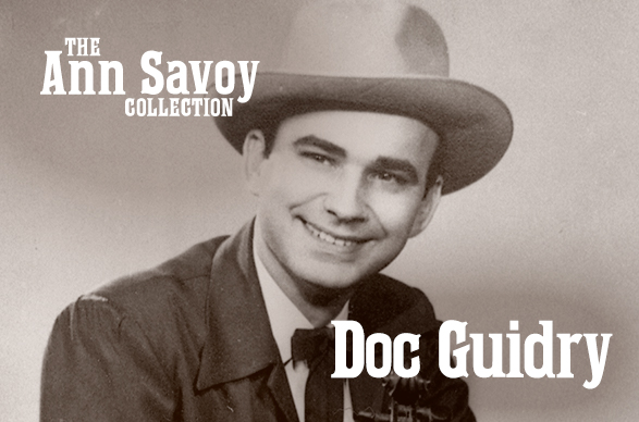 "Ann Savoy Collection: Oran ""Doc"" Guidry, 1986"
