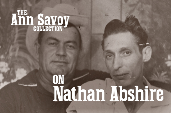 Ann Savoy Collection: On Nathan Abshire