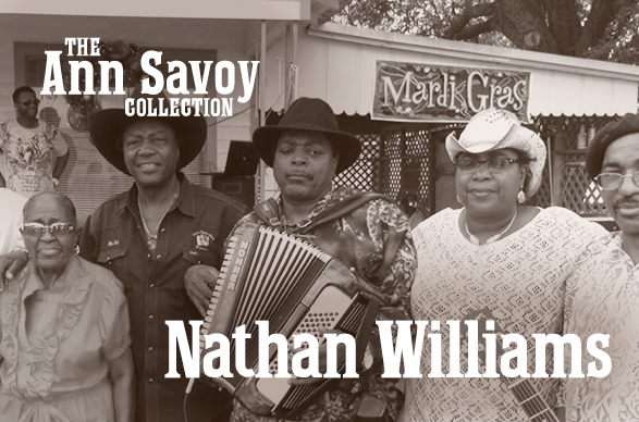 Ann Savoy Collection: Nathan Williams 2019
