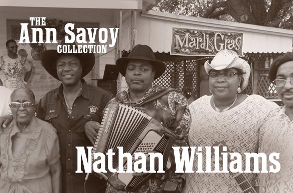 Ann Savoy Collection: Nathan Williams 2019