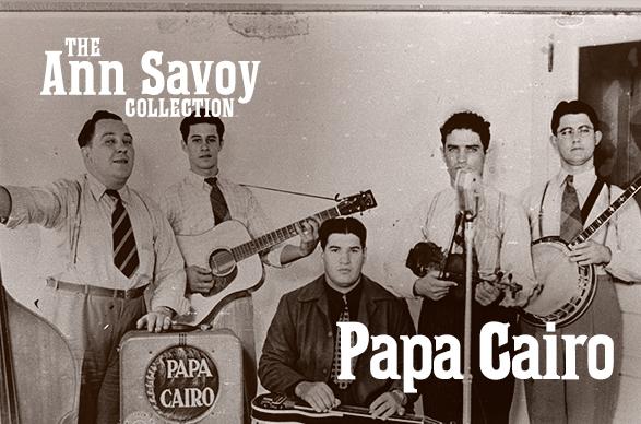 "Ann Savoy Collection: Julius ""Papa Cairo"" Lamperez, 1989"