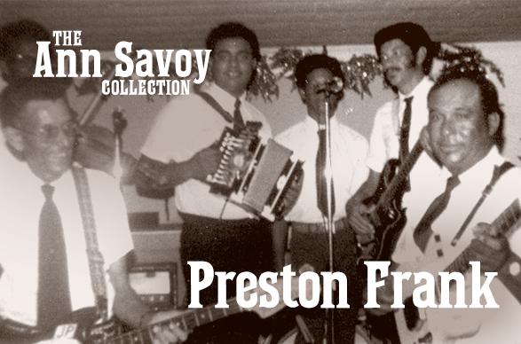 Ann Savoy Collection: Preston Frank, 2019