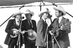Bill Monroe and the Bluegrass Quartet 1985