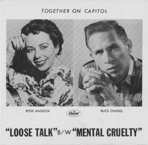Rose Maddox and Buck Owens