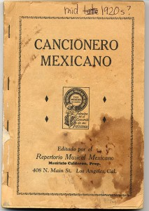 Repertorio Musical Mexicano Pamphlet-1-front