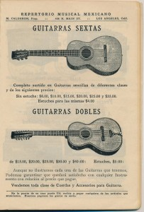Repertorio Musical Mexicano guitar1